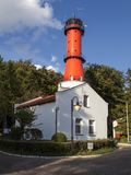 Lighthouse in Rozewie, Poland Royalty Free Stock Photo