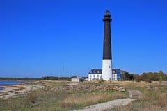 Lighthouse. On Sõrve peninsula, Saaremaa, Estonia Stock Images