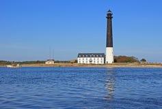 Lighthouse. On Sõrve peninsula, Saaremaa, Estonia Stock Photos