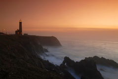 Lighthouse  s. Pedro Moel Royalty Free Stock Image