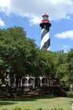 Lighthouse SA-FL1. Lighthouse in St. Augustine, Florida Royalty Free Stock Photos