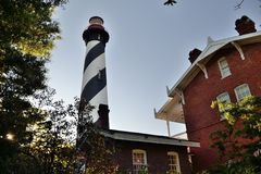 Lighthouse SA. The Lighthouse in St. Augustine, Florida Royalty Free Stock Images
