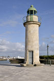 Lighthouse of Saint Gilles Croix de Vie in France Royalty Free Stock Photo