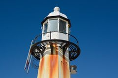 Lighthouse at Saint Ives, Cornwall, England Royalty Free Stock Images