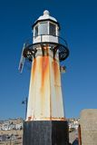 Lighthouse at Saint Ives, Cornwall, England Stock Photos