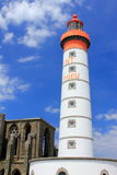 Lighthouse Saint Mathieu, Brittany, France Stock Photography