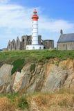 Lighthouse Saint Mathieu, France Royalty Free Stock Image