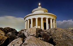 The lighthouse of Saint Theodoroi Royalty Free Stock Photo