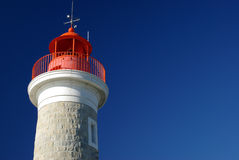 Lighthouse of Saint Tropez, France Royalty Free Stock Image