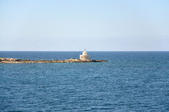 Lighthouse of Saints Theodoroi in Kefalonia, Greece Royalty Free Stock Photography