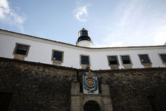 Lighthouse in salvador, bahia brazil Stock Images