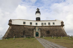 Lighthouse, salvador, bahia, brazil Royalty Free Stock Photo