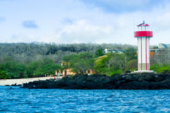 Lighthouse in san cristobal galapagos islands Stock Images