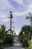 Lighthouse At Sanibel Island Royalty Free Stock Photos