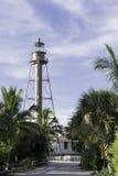 Lighthouse At Sanibel Island. Located at Sanibel Island, Florida - USA Royalty Free Stock Photos