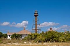 Lighthouse at Sanibel Island, USA stock photos