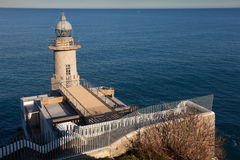 Lighthouse of Santa Catalina Stock Photo