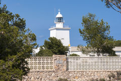 Lighthouse of Santa Pola Royalty Free Stock Images
