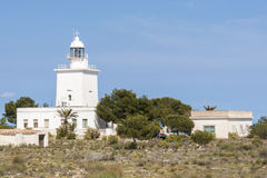 Lighthouse of Santa Pola Stock Photography