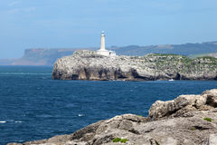 Lighthouse in Santander, Cantabria, Spain Stock Photography