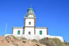 Lighthouse of Santorini Stock Photo