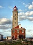 Lighthouse of Sao Pedro de Muel Stock Photos