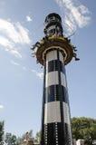 Lighthouse at sarkanniemi Adventure Park Stock Photos