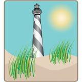Lighthouse Scene Royalty Free Stock Photo