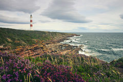 Lighthouse in Scotland Stock Photo
