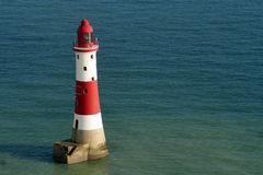 Lighthouse and sea Stock Photos