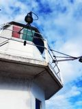 Lighthouse. By the sea Royalty Free Stock Photos