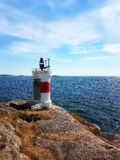Lighthouse. By the sea Royalty Free Stock Photography