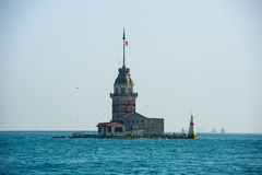 Lighthouse. Sea istanbul view island Royalty Free Stock Image
