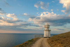 Lighthouse on the sea Royalty Free Stock Images