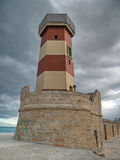 Lighthouse seaport of Monopoli. Apulia. Stock Photos