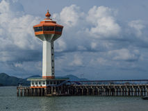 Lighthouse seaside andaman seashore Royalty Free Stock Photos