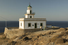 Lighthouse In Serifos Island Royalty Free Stock Photography