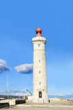 Lighthouse  in Sete, Languedoc, - south of France Royalty Free Stock Photos