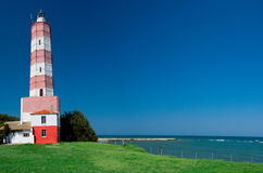 Lighthouse Shabla royalty free stock image