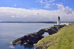 Lighthouse, Shetland Islands Royalty Free Stock Images