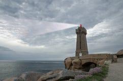 Lighthouse shining Royalty Free Stock Photo