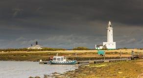 Shining Lighthouse. Royalty Free Stock Images