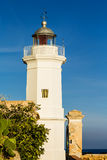 The lighthouse in Sicily Royalty Free Stock Images