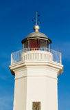 The lighthouse in Sicily Stock Photos