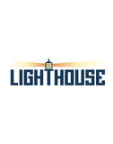 Lighthouse sign Stock Photography