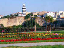 Lighthouse, Sile - Istanbul Royalty Free Stock Photography