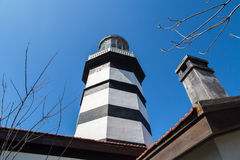 Lighthouse in Sile Royalty Free Stock Images