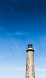 Lighthouse in Skagen with great sky formation Royalty Free Stock Photography
