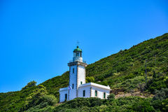 Lighthouse on Skopelos island Royalty Free Stock Photo