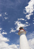 Lighthouse and Sky Royalty Free Stock Photography